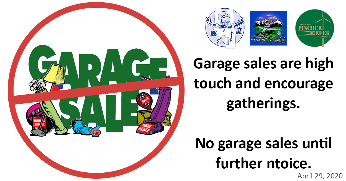 No Garage Sales
